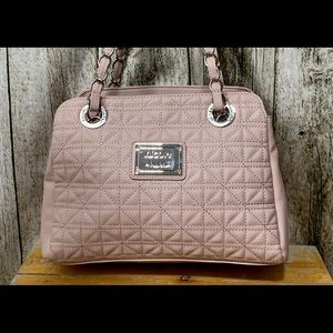 NWT Nicole Miller Bag in a Soft Rose